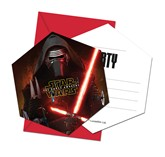 Star Wars The Force Awakens Invitations & Envelopes 6pk