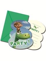 The Good Dinosaur Invitations 6pk