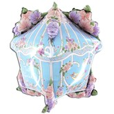 "Wedding House Of Love 3D 34"" Foil Balloon"
