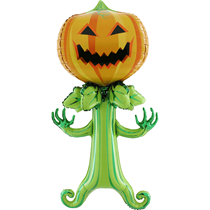 Halloween 5ft Spooky Pumpkin Foil Balloon