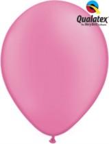 "11"" Neon Magenta Latex Balloons - 100pk"