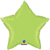 "Lime Green 36"" Star Foil Balloon"