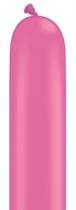 "260Q (2"" x 60"") Neon Magenta Latex Modelling Balloons 100pk"