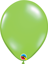 Qualatex Jewel Lime Green 11 inch latex balloons