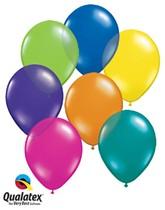 "11"" Fantasy Asst'd Colour Latex Balloons 100pk"