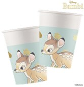 Bambi Deluxe 200ml Paper Cups 8pk