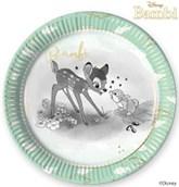 Bambi Deluxe 23cm Paper Plates 8pk