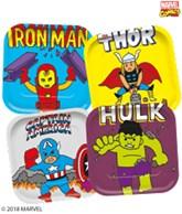Marvel Comics Deluxe 25cm Paper Plates 4pk