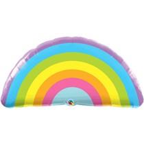 Radiant Rainbow 36 Inch Foil Balloon