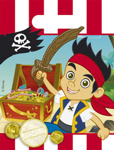 Jake And The Neverland Pirates Party Bags 6pk