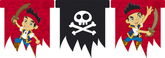 Jake And The Neverland Pirates Flag Banner