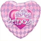 "Princess Tiara 18"" Foil Balloon"