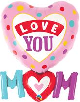 """Love You Mum 33"""" Foil Balloon"""