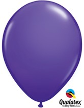 "11"" Purple Violet Latex Balloons 100pk"