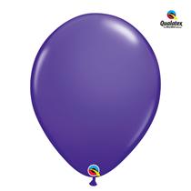 Qualatex purple violet 16 inch latex balloons