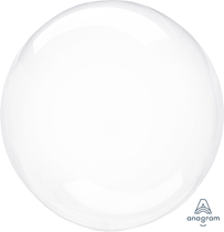 "Anagram Crystal Clearz 18 - 22"" Clear Balloon (Loose)"