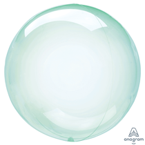 "Anagram Crystal Clearz 18"" Green (Pkgd)"