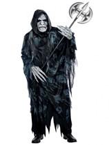 Adult Deluxe Halloween Soul Taker Ghoul Fancy Dress Costume