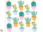 Cactus Party 2-ply Napkins 20pk