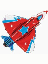 """Starfighter Plane 38"""" Supershape Foil Balloon"""