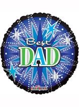 """Best Dad 36"""" Foil Balloon"""