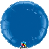 "Dark Blue 18"" Round Foil Balloon"