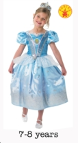 Deluxe Cinderella Fancy Dress Costume - Large