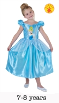 Classic Cinderella Fancy Dress Costume - Large