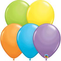 "Bright Pastel Assortment 11"" Latex Balloons 100pk"