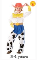 Toy Story Cowgirl Jessie Costume - Small