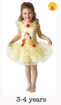 Disney Princess Belle Ballerina Costume - Small