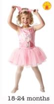 Piglet Ballerina Dress and Headband - Infant