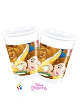 Beauty & The Beast Plastic 200ml Cups 8pk