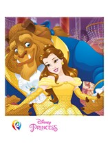Beauty & The Beast Paper Napkins 20pk