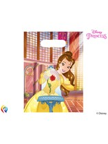 Beauty & The Beast Plastic Party Bags 6pk