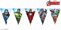 Marvel Avengers Triangle Flag Banner
