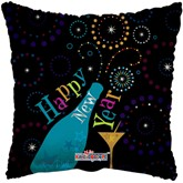 "Happy New Year 18"" Square Foil Balloon"