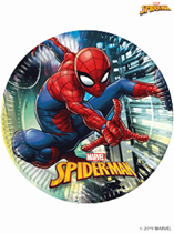 Marvel Spider-Man Party 23cm Paper Plates 8pk