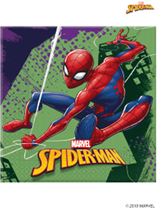 Marvel Spider-Man Party 2-ply Napkins 20pk