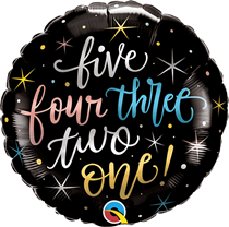 "New Year Countdown 18"" Foil Balloon"