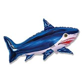 "Shark 42"" Foil Balloon (Loose)"