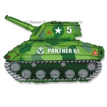"""Jumbo Army Tank 31"""" Supershape Foil Balloon"""