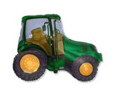 "Green Tractor 29"" Foil Balloon"