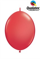 "6"" Red Quick Link Latex Balloons - 50pk"