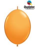 """6"""" Orange Quick Link Latex Balloons - 50pk"""