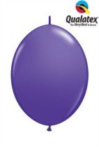 "6"" Purple Violet Quick Link Latex Balloons - 50pk"