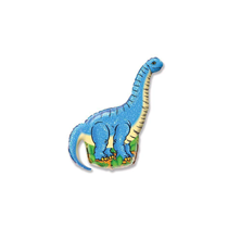 "Diplodocus Dinosaur 14"" Mini Shape Foil Balloon"
