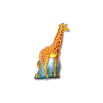 "Giraffe 14"" Mini Shape Foil Balloon"