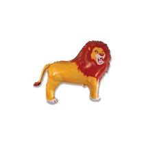 "Lion 14"" Mini Shape Foil Balloon"