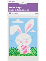 Easter Bunny Treat Bags 50pk